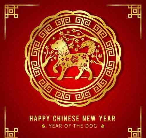 祝大家狗年大吉,新年旺旺旺